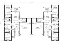 Country Crossing Duplex Home Plan 055D 0378 | House Plans And More Photo