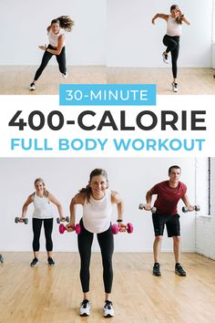400-Calorie Full Body Workout