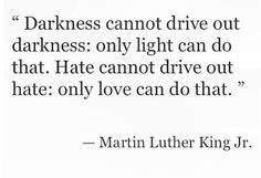 MLK quote about love and hate