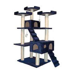 Go Pet Club Cat Tree - 72 in. | from hayneedle.com