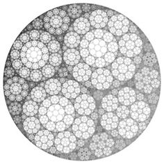 http://www.flickr.com/photos/fdecomite/6737458097/  apollonian gasket