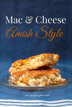 I've been making my mac and cheese the same way for years, but recently I came across an old recipe box. It was given to me at my wedding shower and each guest wrote down their favorite recipe.  I had forgotten about the box, but I pulled out what I considered to be the ultimate recipe for comfort food: mac and cheese Amish style .#OperationInTouch #ad