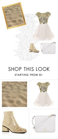 """zand glitter"" by pandastudio1 on Polyvore featuring mode, Marc Jacobs en Furla"