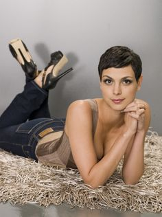 morena baccarin short hair #pixie