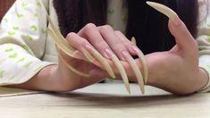 Long Fingernails, Long Nails, Long Natural Nails, Curved Nails, Sexy Nails, Picsart Background, Long Acrylic Nails, Sexy Feet, Hands