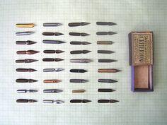 vintage fountain pen nib instant collection