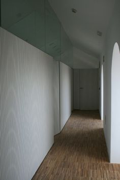 Mamparas y puertas acústicas integradas. Ayuntamiento de Archidona