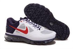 pretty nice 20de7 e7bcb Nike Air Trainer 1.3 Max Breathe Mens Running Shoes WhiteRedBlue 540716  104