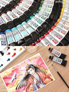 Daniel Smith's Extra Fine Watercolors offer a staggering range of colors, ensuring that you'll always have the perfect one for every brushstroke! Stationery Companies, Jet Pens, Made In America, Rustic Style, Will Smith, Art Supplies, Watercolors, Range, Water Colors