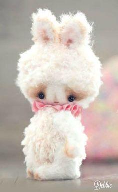 Cute little stuffed bunny ~ Debbie ❤