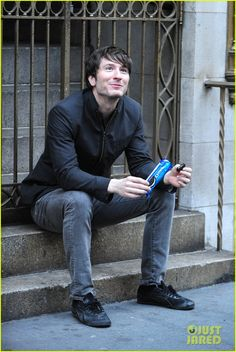Adam Young - you know, just casually glamorously eating oreos and such.