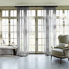Shop our drapery and hardware collection at Arhaus. Silk Curtains, Drapery, Window Coverings, Window Treatments, Silk Organza, White Silk, Furniture Sale, Bed Spreads, Area Rugs