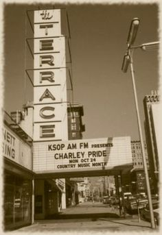 The Terrace Ballroom in Salt Lake City - attended my first rock concert here in 1967.