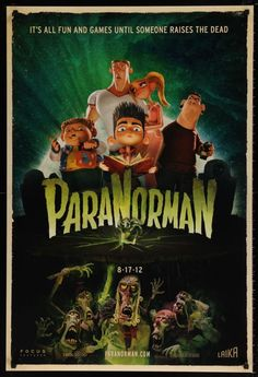 Paranorman ~ great film for all lovers of zombies and the look and feel of stop motion animation. Kid Movies, Family Movies, Great Movies, Horror Movies, Movies To Watch, Movie Tv, Horror Film, Movie Cars, Comedy Movies
