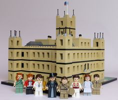 Lego 'Downton Abbey.' Behold two great things of the world becoming one.