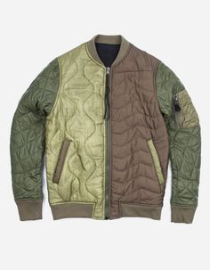 9100 TRI PADDED REVERSIBLE MA JACKET