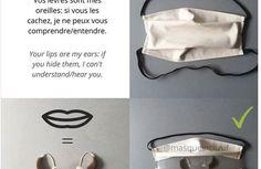 Une créatrice souhaite lancer un masque adapté aux sourds et malentendants