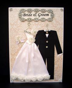 Princess Rose Personalised Wedding Card / Bride and by BSylvar, $25.00