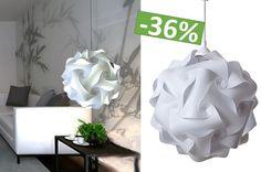 Designerska Lampa sufitowa wisząca Puzzle biała