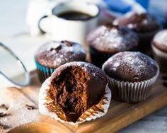 Muffins au chocolat à la bière
