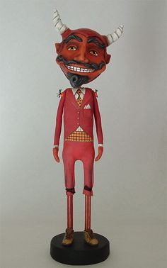 Devil art doll by Cart Before The Horse