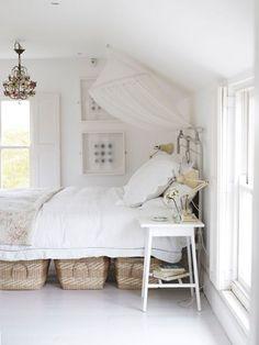 Use under bed storage
