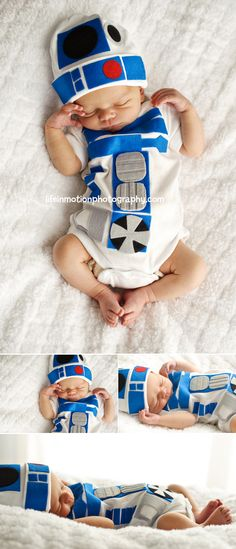 R2D2 Newborn! Too awesome
