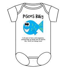 Pisces Baby Onesie  $22.99