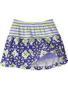 Seeing Summer Scooter Skirt from #HannaAndersson.