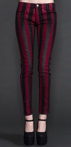 Lip Service Black and Red Skinny Jeans http://sulia.com/my_thoughts/4070997e-519f-4781-a710-532c3d4f6577/?