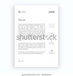 Elegant Black White Letterhead Design Template Stock Vector (Royalty Free) 1670505163 Letterhead Design, Royalty Free Stock Photos, Names, Templates, Black And White, Elegant, Letterhead, Classy, Stencils