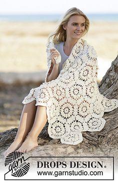 13-2_medium...SUNSHINE..            Free pattern for this beautiful blanket!! ༺✿Teresa Restegui http://www.pinterest.com/teretegui/✿༻