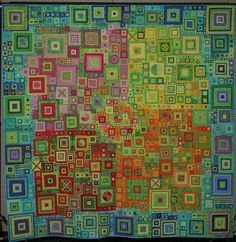 Little Cities Quilt by Kathy York