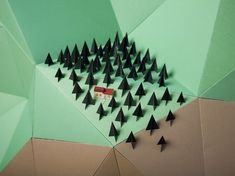 Hattie Newman | Fubiz ™ in Set design & paper craft