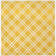 Safavieh Cambridge Judy Hand-Tufted Wool Area Rug, Gold