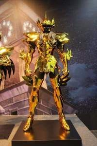 Peixes armaduras de ouro em tamanho real cavaleiros do zodíaco hd