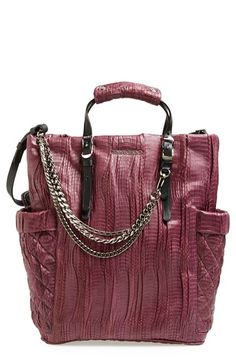 aa9556f982d1 Jimmy Choo  Blare  Genuine Snakeskin Tote available at  Nordstrom Expensive  Handbags