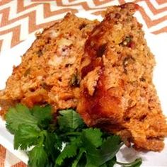 """Salsa Chicken Meatloaf 