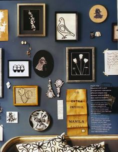 gallery wall inspiration + hanging tips