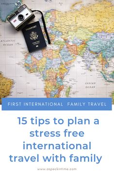 Field-tested tips to plan for your first international travel with family. Toddler Travel, Travel With Kids, Family Travel, Travel Advice, Travel Guides, Travel Hacks, Vacation Trips, Vacation Travel, Family Vacations