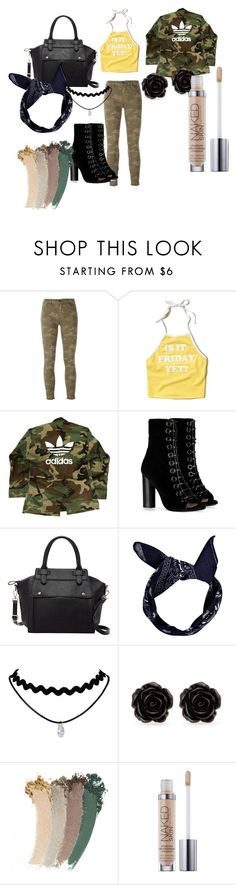 """""""Untitled #2"""" by queen-jordan ❤ liked on Polyvore featuring J Brand, Hollister Co., adidas, Barbara Bui, Pink Haley, Boohoo, Erica Lyons and Gucci"""
