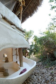 Marzia Chierichetti's home in Kenya