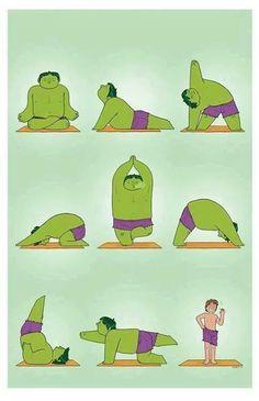 Você não precisa dizer que esta praticando Yoga como um Ogro, apenas faça o melhor possível para ter Saúde!