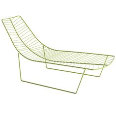 leaf chaise for arper