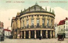 Belgium Antwerp Anvers 1908 Royal Theater Collectible Antique Vintage Postcard - Moodys Vintage Postcards - 1
