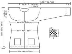 """Bergen - Strikket DROPS jakke i """"Alpaca"""" med rundt bærestykke, lommer og norsk mønster. Str XS – XXXL - Free pattern by DROPS Design"""
