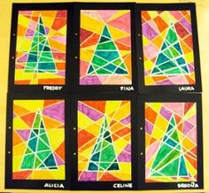 Onderwijs en zo voort ........: 1871. Kerstknutsels II : Geometrische kerstbomen