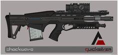 Quicksilver Industries: 'Stingray' DMR by Shockwave9001.deviantart.com on @deviantART