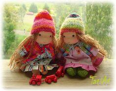 Tati Art Waldorf inspired doll from Latvia