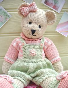 Candy teddy bear pattern